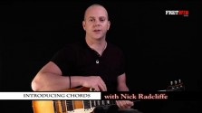 Introducing Chords 1 (E & Am) - a FretHub online guitar lesson, with Nick Radcliffe