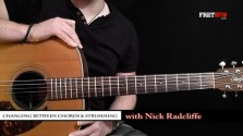 4. Changing Between Chords & Strumming - a FretHub online guitar lesson, with Nick Radcliffe