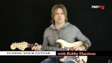 Tuning Your Guitar - a FretHub online guitar lesson, with Bobby Harrison