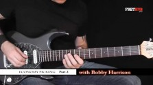 Economy Picking - Part 2 - a FretHub online guitar lesson, with Bobby Harrison