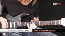 Economy Picking - Part 3 - a FretHub online guitar lesson, with Bobby Harrison