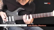 Economy Picking - Part 4 - a FretHub online guitar lesson, with Bobby Harrison