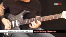 Economy Picking - Part 5 - a FretHub online guitar lesson, with Bobby Harrison