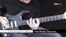 Economy Picking - Part 8 - a FretHub online guitar lesson, with Bobby Harrison
