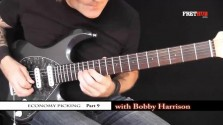 Economy Picking - Part 9 - a FretHub online guitar lesson, with Bobby Harrison