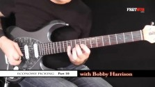 Economy Picking - Part 10 - a FretHub online guitar lesson, with Bobby Harrison