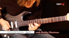 Economy Picking - Part 11 - a FretHub online guitar lesson, with Bobby Harrison