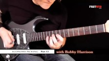 Economy Picking - Part 12 - a FretHub online guitar lesson, with Bobby Harrison