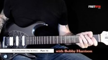 Economy Picking - Part 13 - a FretHub online guitar lesson, with Bobby Harrison
