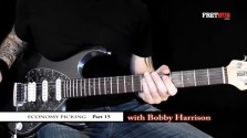 Economy Picking - Part 15 - a FretHub online guitar lesson, with Bobby Harrison