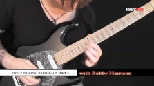 Sweep Picking Arpeggios - Part 3 - a FretHub online guitar lesson, with Bobby Harrison