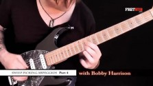 Sweep Picking Arpeggios - Part 4 - a FretHub online guitar lesson, with Bobby Harrison