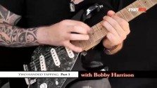 Two Handed Tapping - Part 1 - a FretHub online guitar lesson, with Bobby Harrison