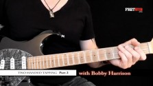 Two Handed Tapping - Part 2 - a FretHub online guitar lesson, with Bobby Harrison