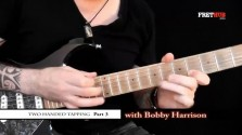 Two Handed Tapping - Part 3 - a FretHub online guitar lesson, with Bobby Harrison