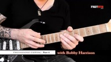 Two Handed Tapping - Part 4 - a FretHub online guitar lesson, with Bobby Harrison