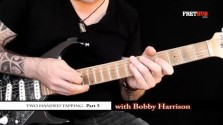 Two Handed Tapping - Part 5 - a FretHub online guitar lesson, with Bobby Harrison
