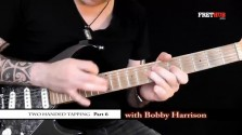 Two Handed Tapping - Part 6 - a FretHub online guitar lesson, with Bobby Harrison