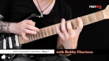 Two Handed Tapping - Part 7 - a FretHub online guitar lesson, with Bobby Harrison
