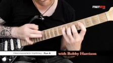 Two Handed Tapping - Part 8 - a FretHub online guitar lesson, with Bobby Harrison