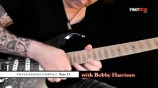 Two Handed Tapping - Part 11 - a FretHub online guitar lesson, with Bobby Harrison