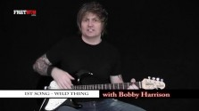 1st Song - Wild Thing - a FretHub online guitar lesson, with Bobby Harrison