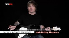 Popular 4 Chord Sequence - a FretHub online guitar lesson, with Bobby Harrison