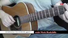 Learning To Strum 2 - a FretHub online guitar lesson, with Nick Radcliffe
