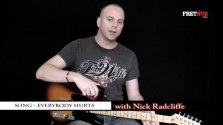 Song - Everybody Hurts - a FretHub online guitar lesson, with Nick Radcliffe