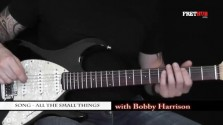 Song - All The Small Things - a FretHub online guitar lesson, with Bobby Harrison