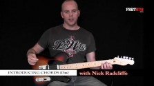 Introducing Chords 7 (Dm) - a FretHub online guitar lesson, with Nick Radcliffe
