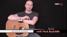 Relative Tuning - a FretHub online guitar lesson, with Nick Radcliffe