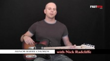 Minor Barre Chords - a FretHub online guitar lesson, with Nick Radcliffe