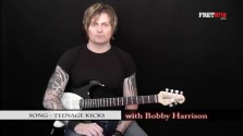 Song - Teenage Kicks - a FretHub online guitar lesson, with Bobby Harrison