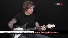 Song - Knockin' On Heavens Door - a FretHub online guitar lesson, with Bobby Harrison