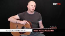 Song - Heart Of Gold - a FretHub online guitar lesson, with Nick Radcliffe