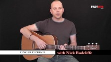 Finger Picking - a FretHub online guitar lesson, with Nick Radcliffe