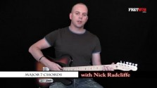 Major 7 Chords - a FretHub online guitar lesson, with Nick Radcliffe