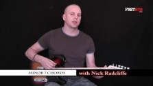 Minor 7 Chords - a FretHub online guitar lesson, with Nick Radcliffe
