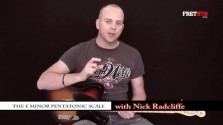 The E minor Pentatonic Scale - a FretHub online guitar lesson, with Nick Radcliffe