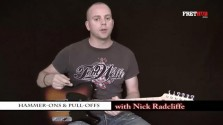 Hammer-Ons and Pull-Offs - a FretHub online guitar lesson, with Nick Radcliffe