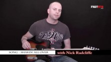 Song - Shaking All Over - a FretHub online guitar lesson, with Nick Radcliffe
