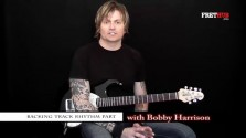 Backing Track Rhythm Part - a FretHub online guitar lesson, with Bobby Harrison