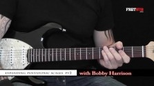 Expanding Pentatonic Scales 2 - a FretHub online guitar lesson, with Bobby Harrison