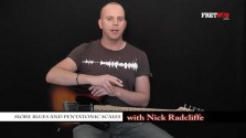 More Blues and Pentatonic Scales - a FretHub online guitar lesson, with Nick Radcliffe