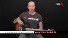 Beginner Lead Demo & Summary - a FretHub online guitar lesson, with Nick Radcliffe