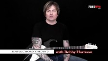Simple Chord Theory 3 - a FretHub online guitar lesson, with Bobby Harrison