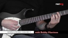 Simple Chord Theory 5 - a FretHub online guitar lesson, with Bobby Harrison