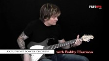 Exploring Power Chords - a FretHub online guitar lesson, with Bobby Harrison