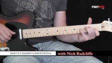Add 9 Chord Variations - a FretHub online guitar lesson, with Nick Radcliffe